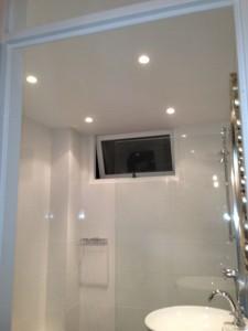 Badkamer volledig gebouwd en opgeleverd