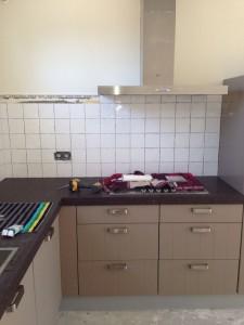 Keuken monteren en plaatsen