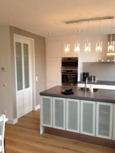 Keuken volledig geplaatst en afgemonteerd